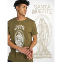 Santa Muerte férfi póló