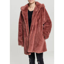 Női plüss kabát
