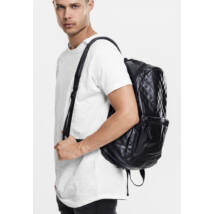 Steppelt fekete hátizsák