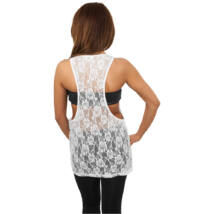 Lezser csipkés női trikó