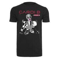 Ladies Cardi B Transmission mintás póló