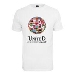 United World mintás póló