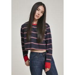 Rövid fazonú női pulóver