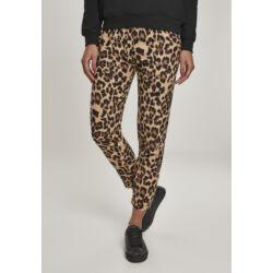 Leopárd mintás női nadrág