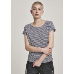 Csíkos női póló