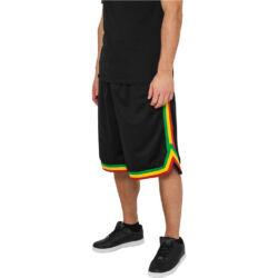 Férfi csíkos sportos rövidnadrág