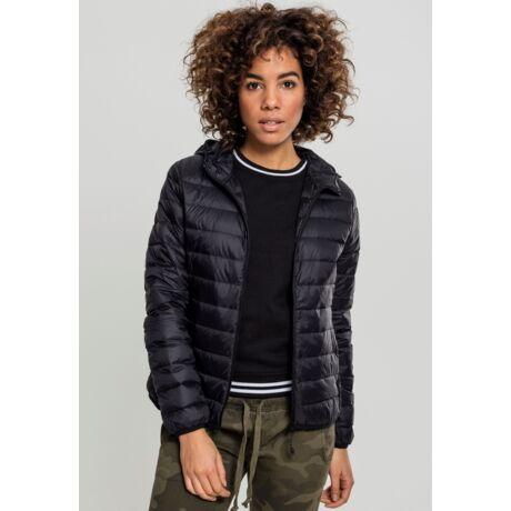 fekete steppelt női dzseki