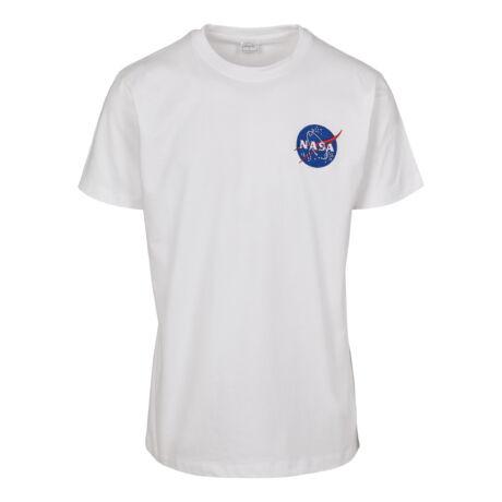 NASA hímzett logós póló
