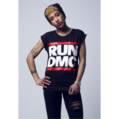 """""""Run DMC"""" logós női póló"""