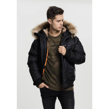 Férfi kapucnis kabát