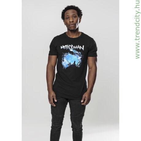 Fekete Wu-Tang Clan férfi póló