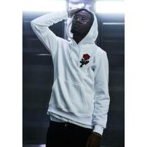 Fehér férfi pulóver