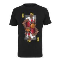 King Mike mintás póló
