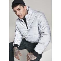 Ezüstszínű férfi dzseki