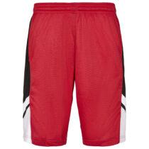 Piros hálós kosárlabda rövidnadrág