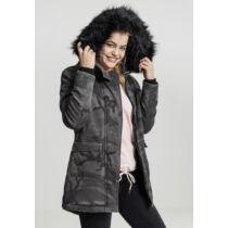 Női terepmintás kabát