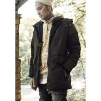 Fekete hosszított dzseki