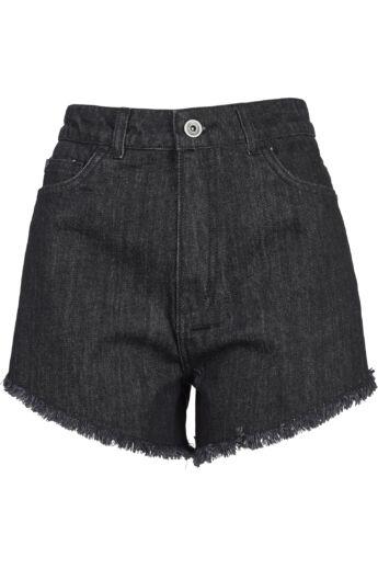 Női fekete rövidnadrág