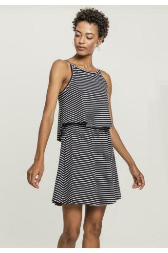 Női ruha fekete-fehér