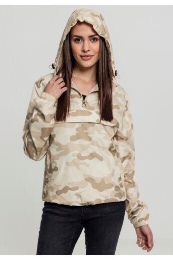 Női terepszínű dzseki