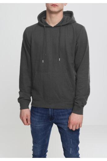 Sötétszürke férfi pulóver