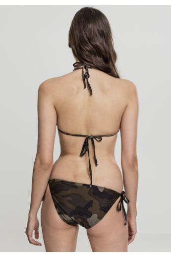 Női terepmintás bikini