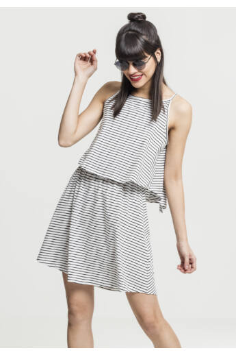Női fekete-fehér ruha