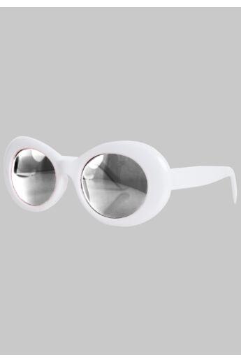 Fehér-szürke női napszemüveg