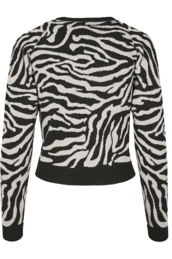 Tigriscsíkos pulóver