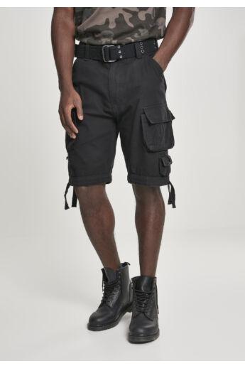 Férfi fekete vintage rövidnadrág