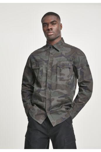 Terepszínű  férfi ing