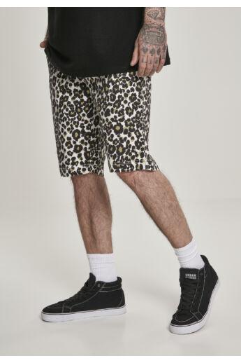 Leopárd mintás rövidnadrág