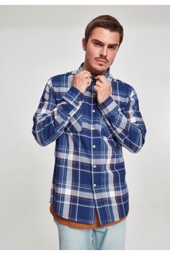 Kék kockás férfi ing