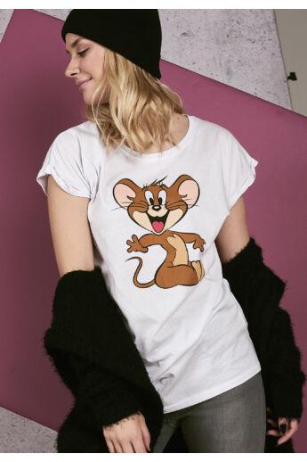 Tom & Jerry mintás női póló