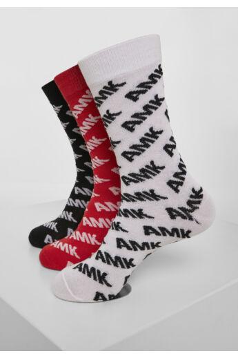Divatos zokni 3db-os készletben