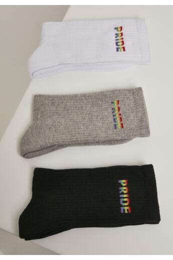 Divatos zokni 3db-os csomagban