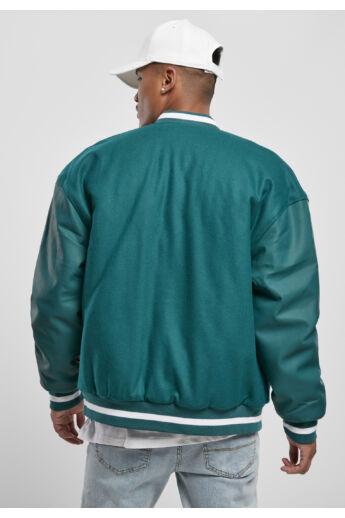 Zöld férfi kollégiumi dzseki