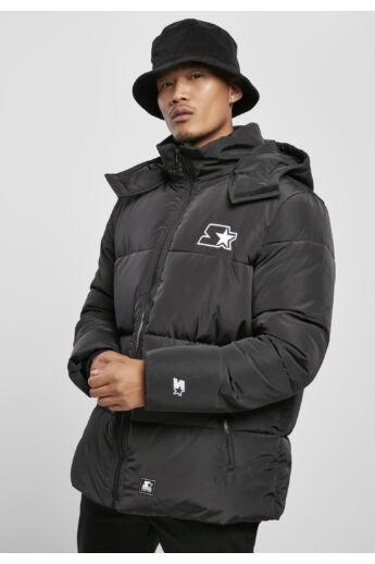Fekete férfi pufi kabát