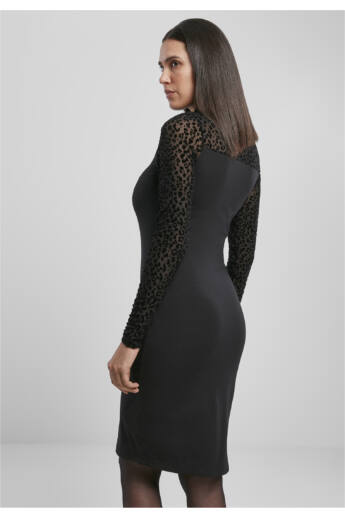 női csipkebetétes ruha