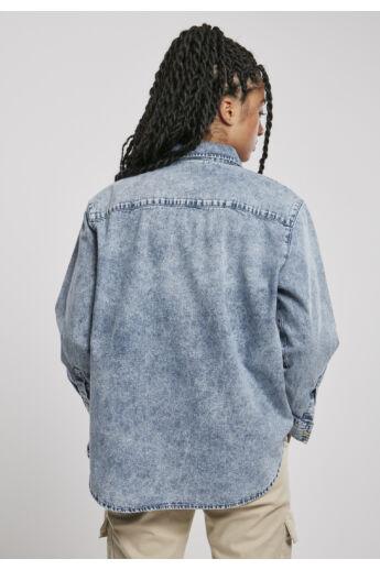 Női kék farmer ing