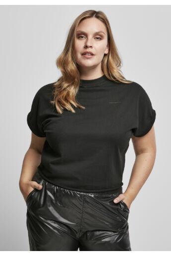 női túlméretezett vágott ujjú póló
