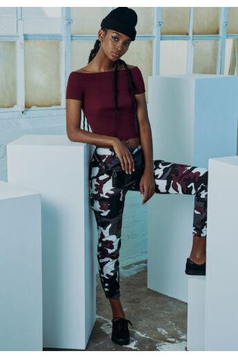 Terepszínű női nadrág