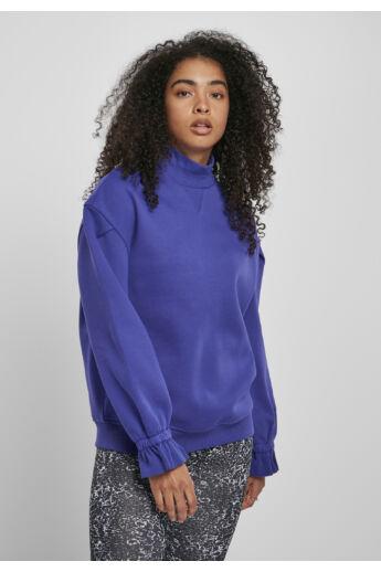 Női lila nagyméretű pulóver