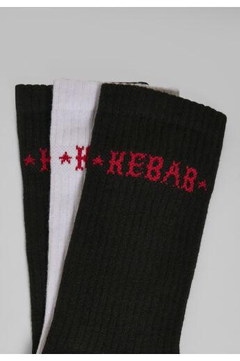 kebab zokni szett