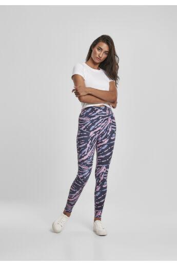 Női magas derekú mintás leggings