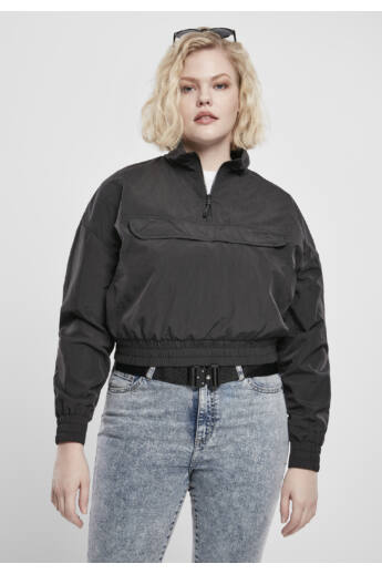 Női fekete rövid dzseki