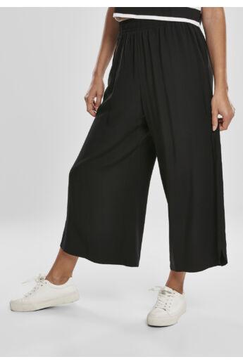 fekete női bő nadrág