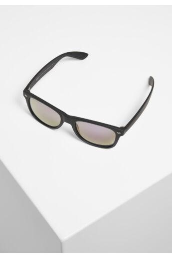 Tükrös fekete-lila divat napszemüveg