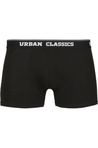 Fekete-szürke boxer alsónadrág csomagban