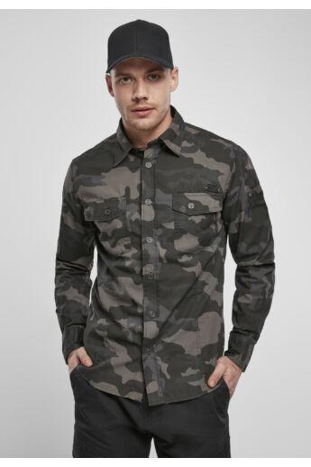 Terepmintás férfi ing